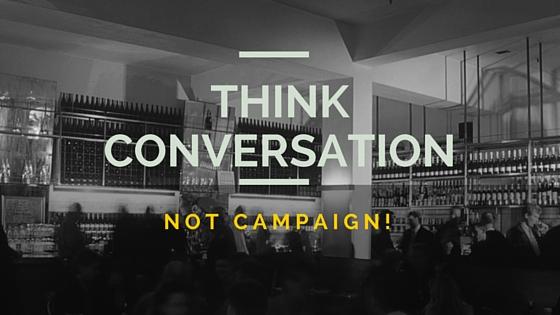 שיחה, לא מכירות